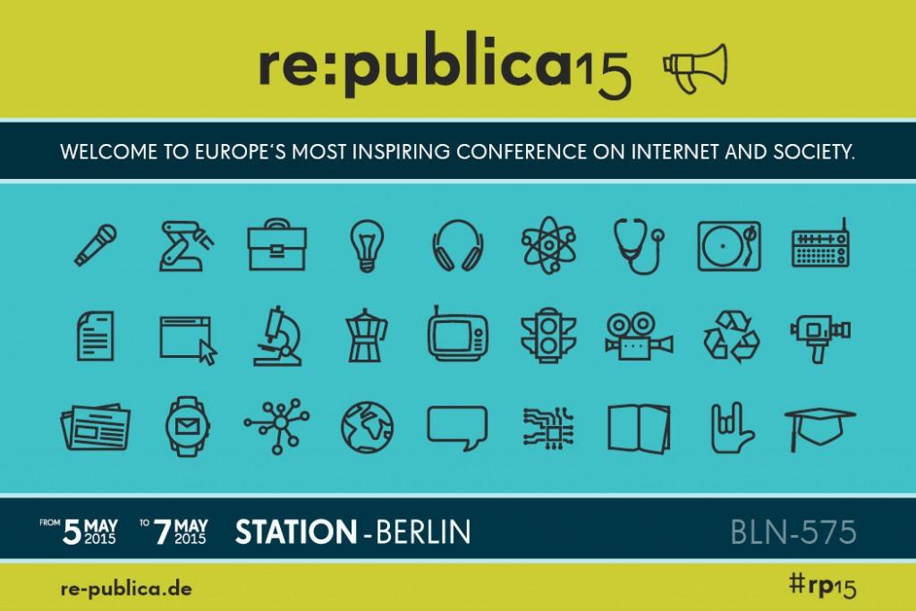Ich zähle die Stunden bis zur re:publica 2015!