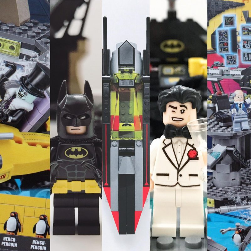 Review: The LEGOBatman Movie Batcave Break-in 70909