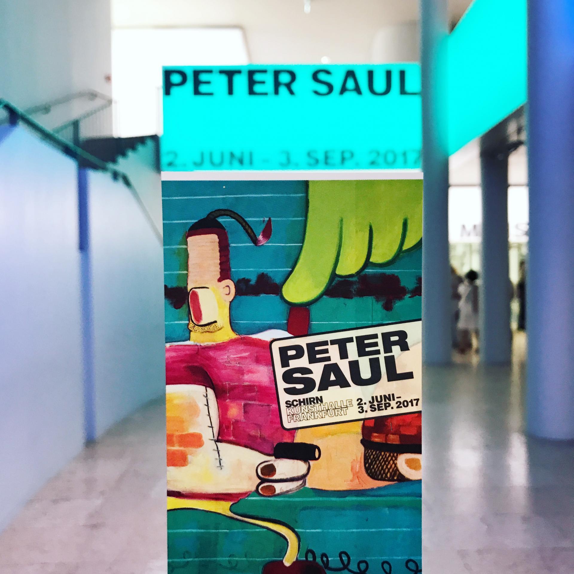 Peter Saul #SCHIRNMEETUP